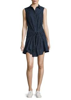 Derek Lam Embroidered Cotton Shift Dress