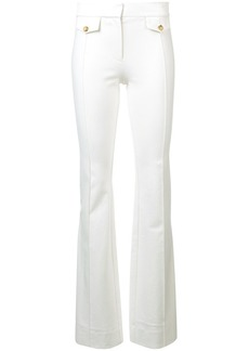 Derek Lam Flare Trouser with Seam & Pocket Flap Detail
