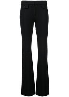Derek Lam Flare Trouser with Seam & Pocket Flap Detail