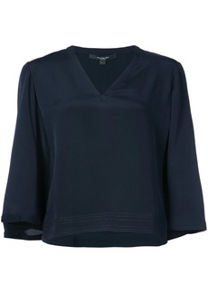 Derek Lam flared cropped blouse