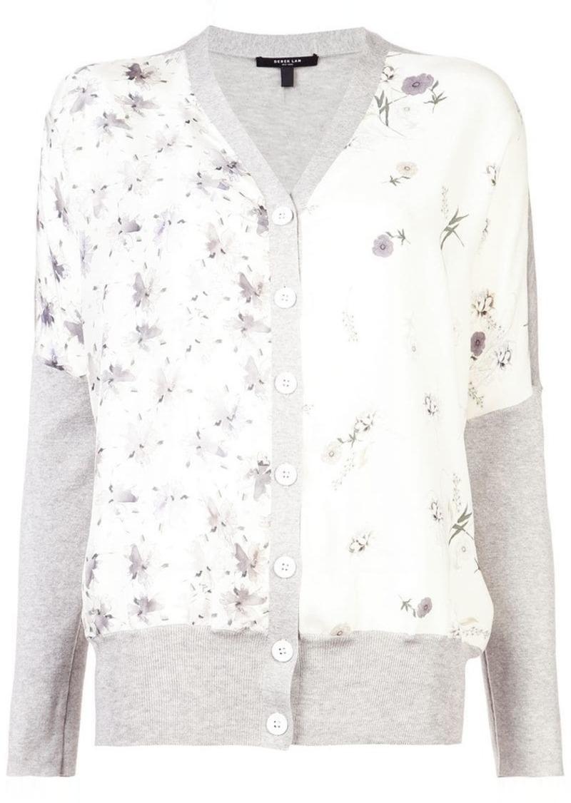 Derek Lam floral print cardigan