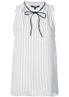 Derek Lam front fastened sleeveless blouse