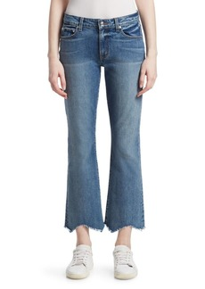 Derek Lam Gia Distressed Flared Crop Jeans