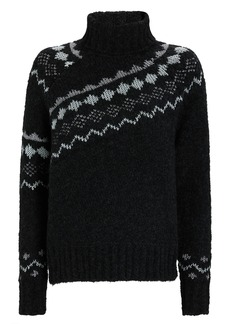 Derek Lam Grammer Fair Isle Turtleneck Sweater