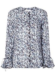 Derek Lam graphic print blouse