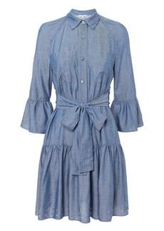 Derek Lam Grommet Denim Dress