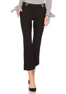 Derek Lam Grommet Detail Crop Trouser