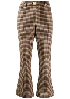 Derek Lam high-waisted kick flare trousers