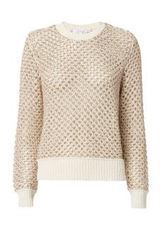 Derek Lam Honeycomb Open Weave Sweater