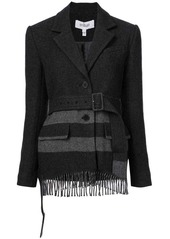Derek Lam Jacket with Fringe Hem