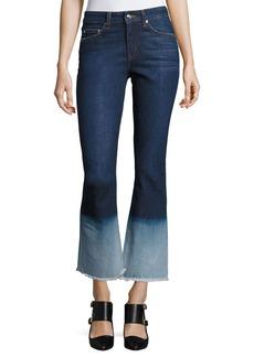 Derek Lam Jane Mid-Rise Flip Flop Flare Jeans