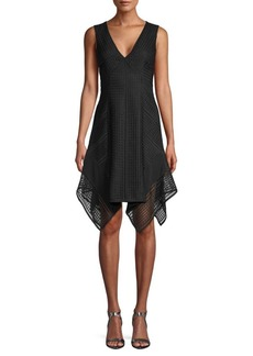 Derek Lam Lace Sleeveless Shift Dress