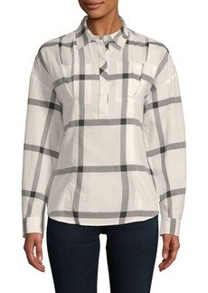 Derek Lam Lace-Up Cotton Shirt