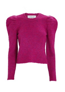 Derek Lam Locken Puff Shoulder Sweater