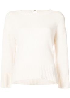 Derek Lam Long Sleeve Sweater With Back Keyhole