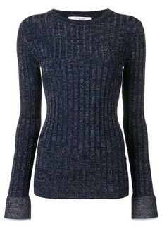 Derek Lam lurex rib pullover