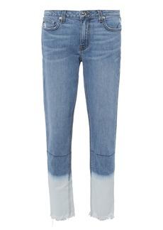 Derek Lam Mila Bleached Hem Jeans