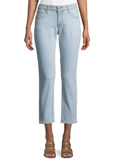 Derek Lam Mila Girlfriend Cropped Jeans