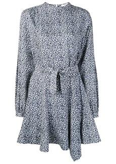 Derek Lam mini paisley flared dress
