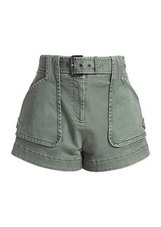 Derek Lam Monteray Belted Shorts