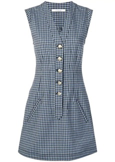 Derek Lam mouline check dress