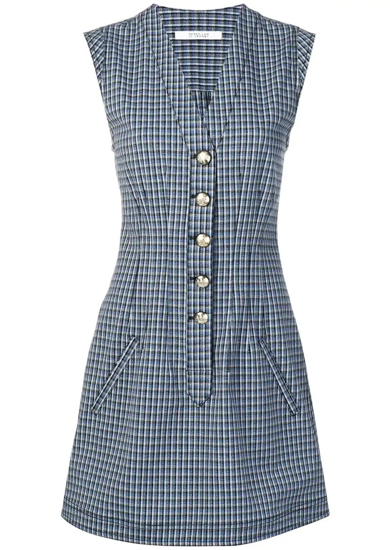 Derek Lam mouline check dress
