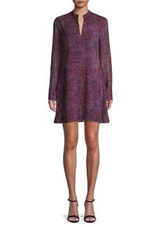 Derek Lam Multicolored Printed Shift Dress
