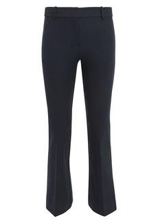 Derek Lam Navy Crop Flare Trousers