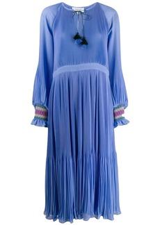 Derek Lam Nemea Pleated Maxi dress