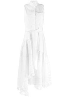 Derek Lam Neroia Lace Inset Maxi Dress