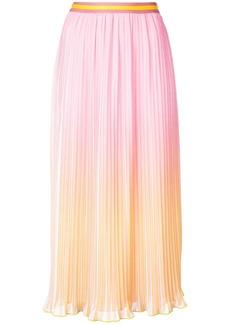 Derek Lam ombré design skirt