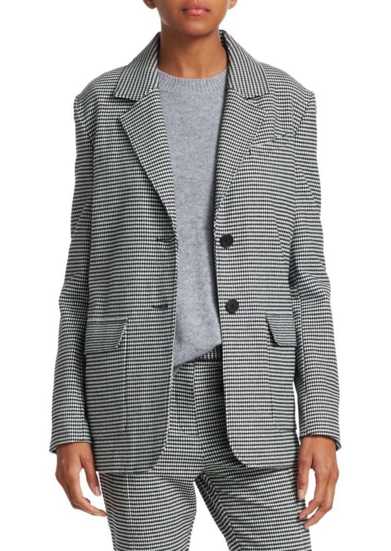 Derek Lam Oversized Flannel Blazer