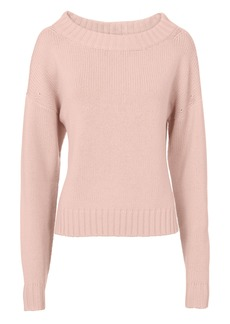 Derek Lam Pink Cropped Sweater