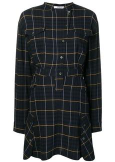 Derek Lam plaid shirt dress