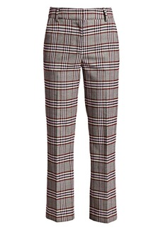 Derek Lam Plaid Straight-Leg Pants