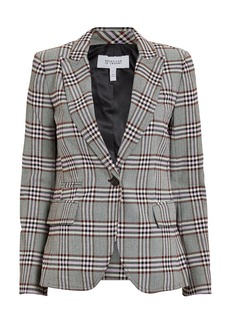 Derek Lam Plaid Twill Blazer