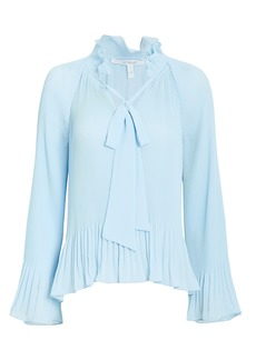 Derek Lam Pleated Blouse