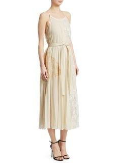 Derek Lam Pleated Cami Dress
