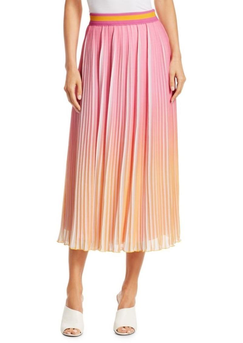 4105a03d7c Derek Lam Pleated Ombré Midi Skirt   Skirts