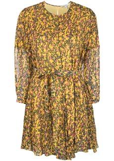Derek Lam printed belted mini dress