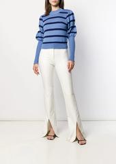 Derek Lam puff sleeves knitted sweater