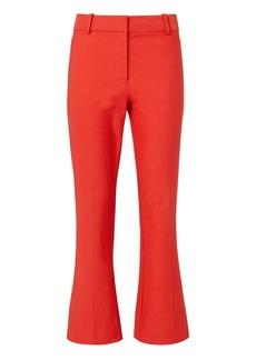 Derek Lam Red Crop Flare Pants