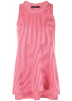 Derek Lam Ribbed A-Line Cashmere Tank