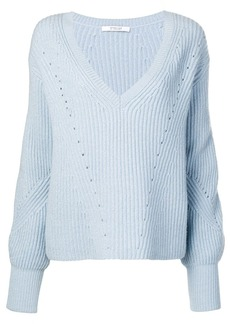 Derek Lam ribbed bell sleeve sweater