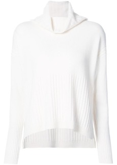 Derek Lam ribbed cowl neck sweater