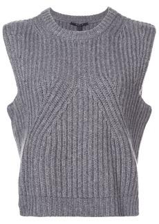 Derek Lam ribbed knit sleeveless sweater