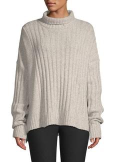Derek Lam Ribbed Turtleneck Sweater