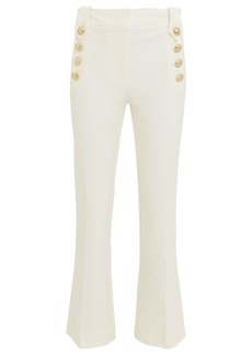 Derek Lam Robertson Cropped Sailor Flare Trousers