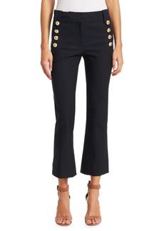 Derek Lam Robertson Cropped Sailor Jeans