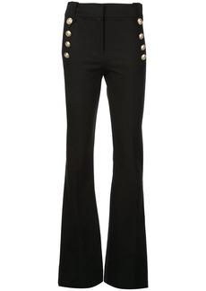 Derek Lam Robertson Flare Trouser with Sailor Buttons